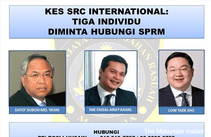 Why SRC duo not on Interpol's wanted list, asks DAP lawmaker
