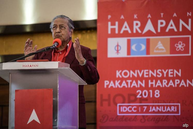 I will honour my words as interim PM, says Dr Mahathir