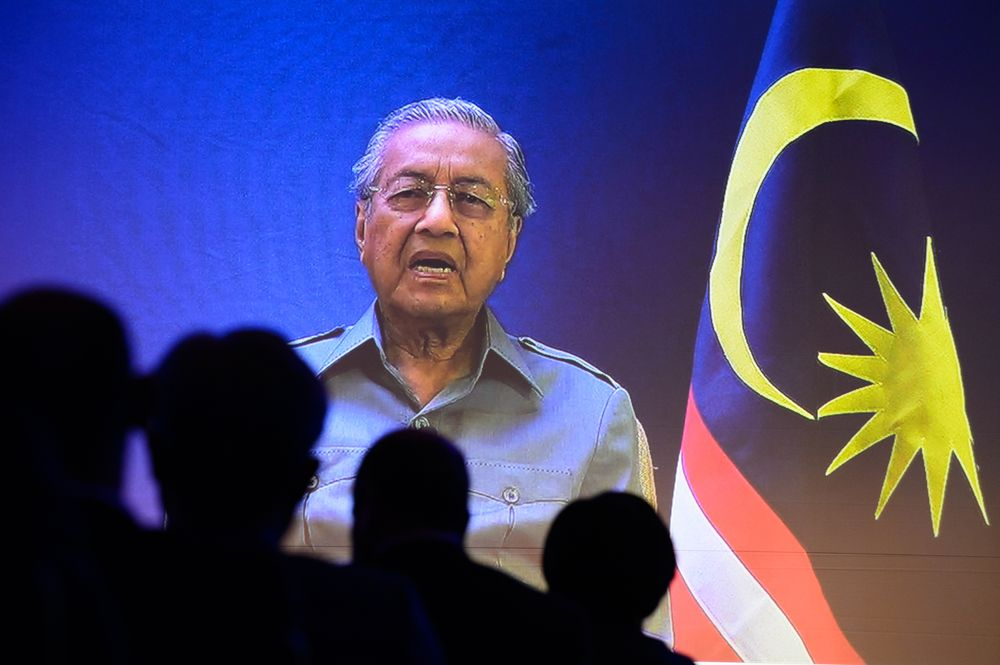 Dr Mahathir regrets people use money, time to invent weapons