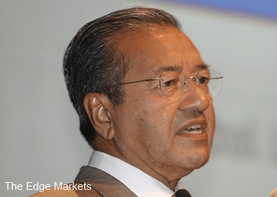 Hiding information also a crime, Dr Mahathir says as Putrajaya hunts for 1MDB whistleblowers