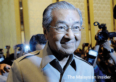 Malaysia police to question ex-PM Mahathir on anti-government comment