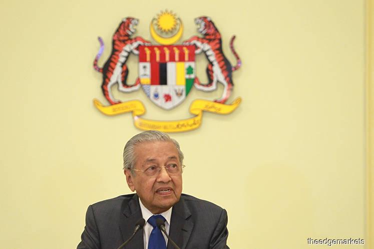 Dr Mahathir agrees to be Bersatu chairman again