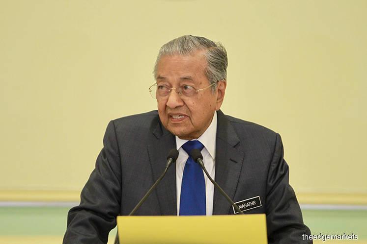 Mahathir back as Bersatu chairman — party secretary-general