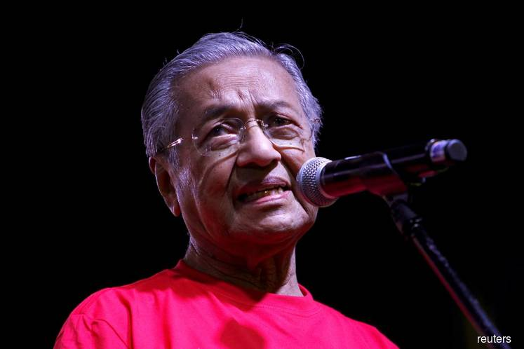 Mahathir says the ECRL project contract is strange