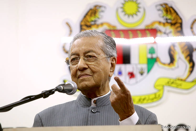 Mahathir : Cabinet yet to decide on takeover of Gamuda's four tolled highways