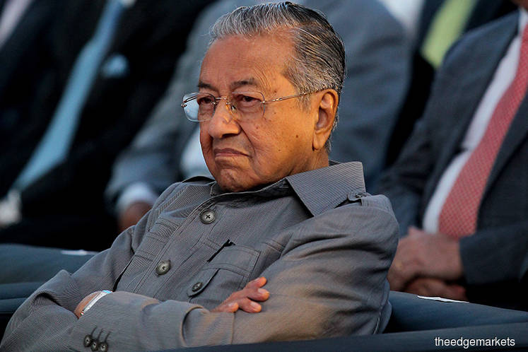 Dr Mahathir: ECRL, two pipeline projects will be cancelled