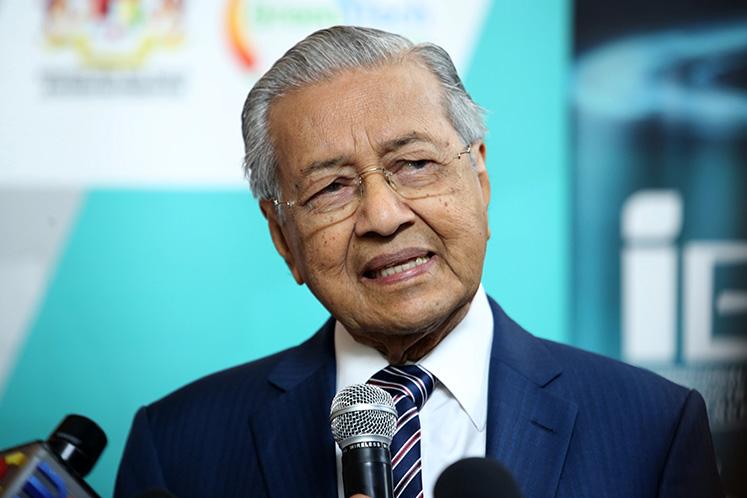 """Dr Mahathir says the idea of Bersatu leaving Pakatan Harapan """"surprises"""" him"""