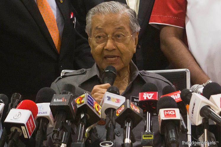 Johor MB aware of world's largest ship-to-ship hub project in JB — Dr Mahathir