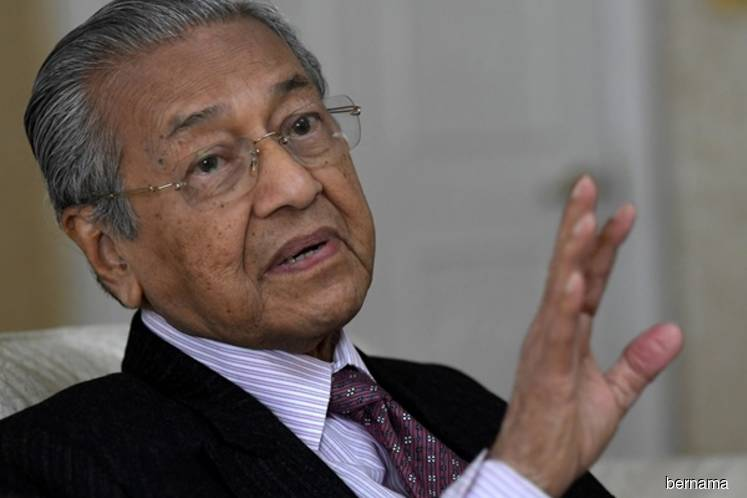 Dr M: Malaysia debt-to-GDP ratio lower now, to sell more assets to reduce borrowings