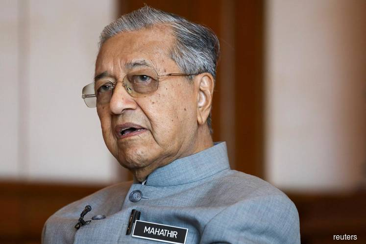 Dr Mahathir says ruling coalition could be a one-term govt unless it stops infighting