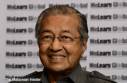 Najib must quit, A-G not credible, says Dr Mahathir