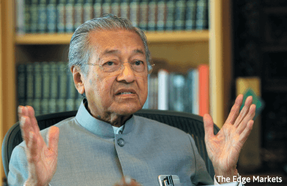Dr M: 1MDB made it sound like it dealt with legitimate firms