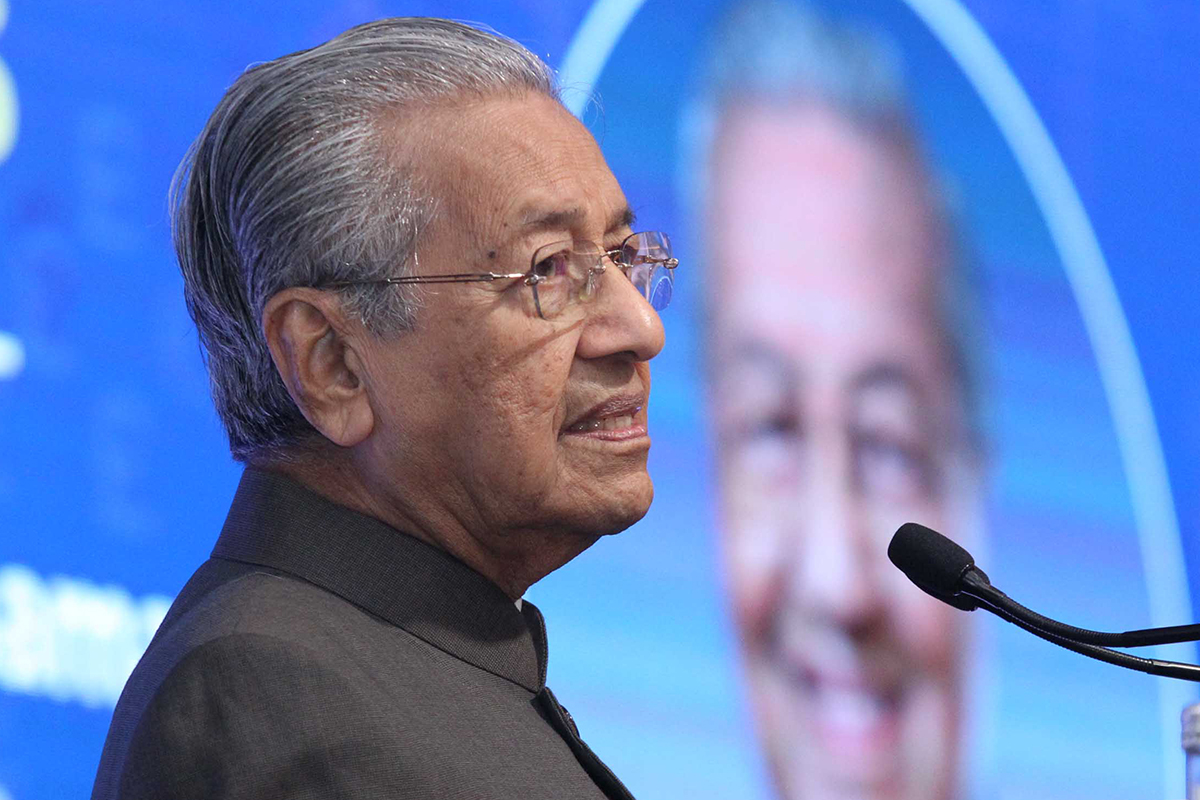Tun Mahathir's new party now known as 'Pejuang'
