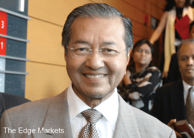 Dr Mahathir hopes to stay active to solve country's woes, says report