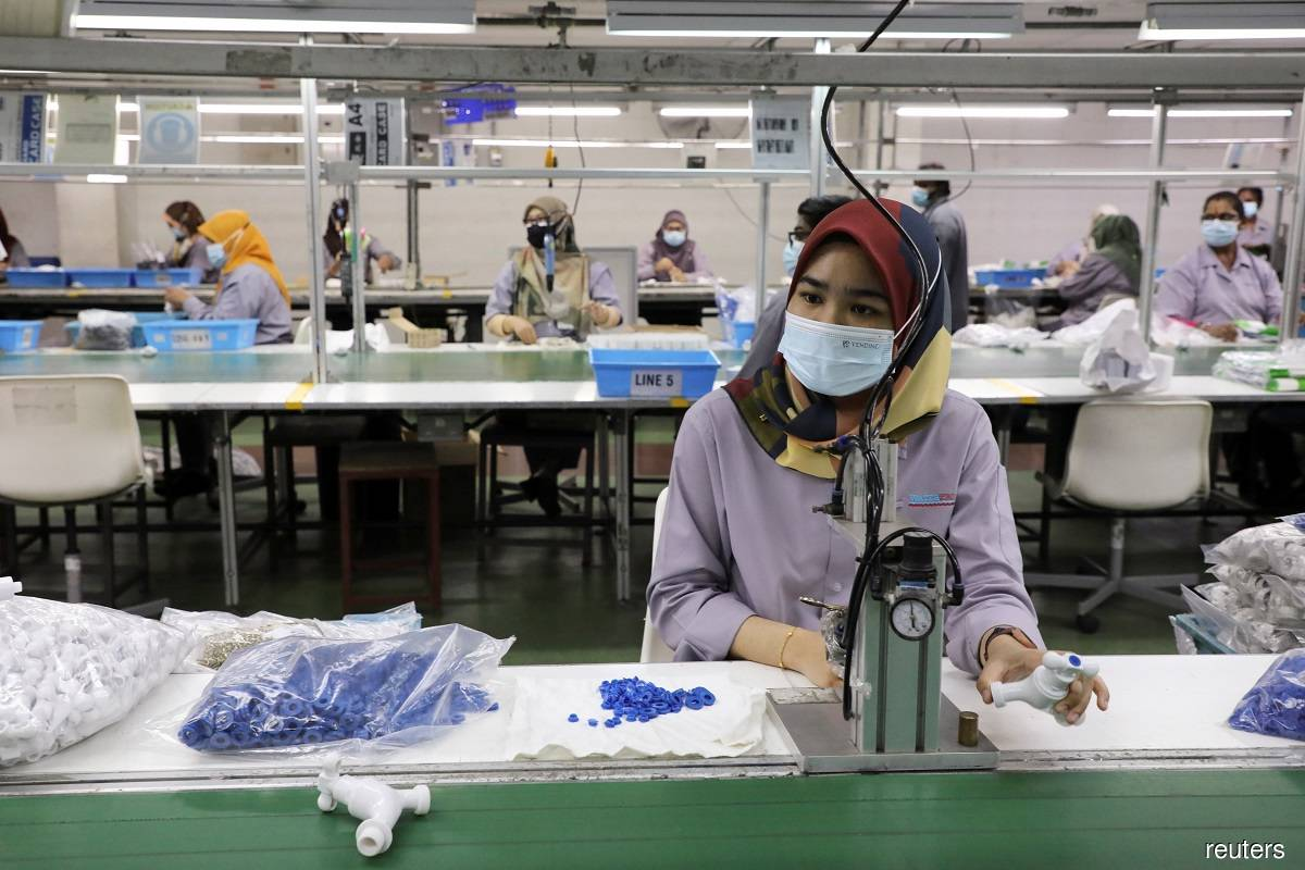 Factories in EMCO areas not required by MITI to do twice-weekly Covid-19 tests on staff