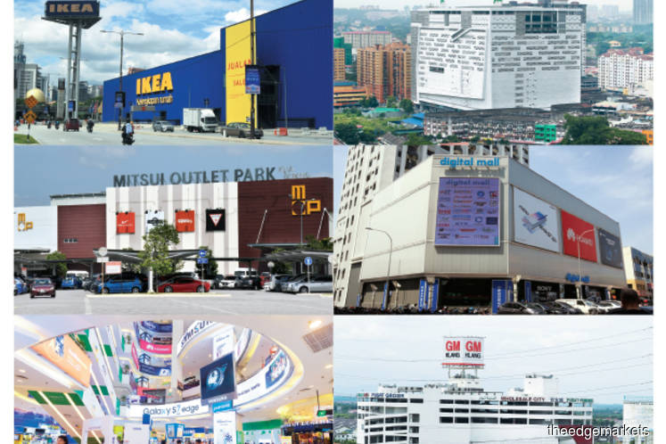 Can specialised malls work?