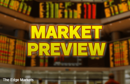 KLCI to test 1,720 level, advance in line with global markets