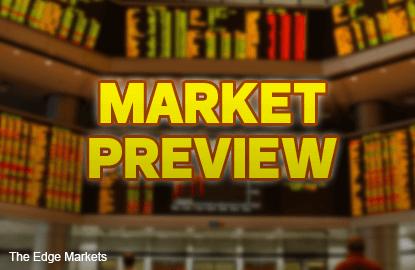 KLCI to sustain pre-holiday gains, trade range bound