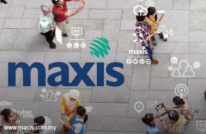 Maxis' 1Q net profit up 26%, declares five sen dividend