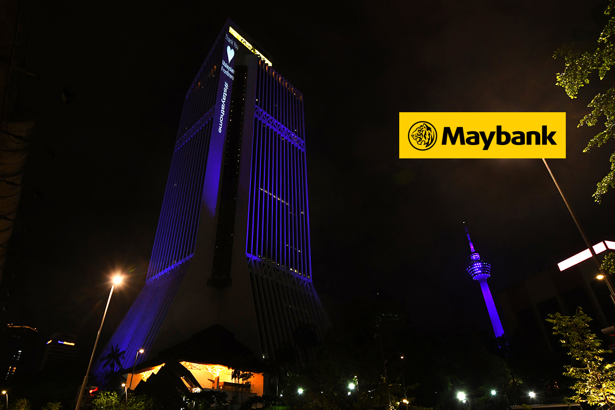 Maybank shares up on first interim dividend payment ex-date