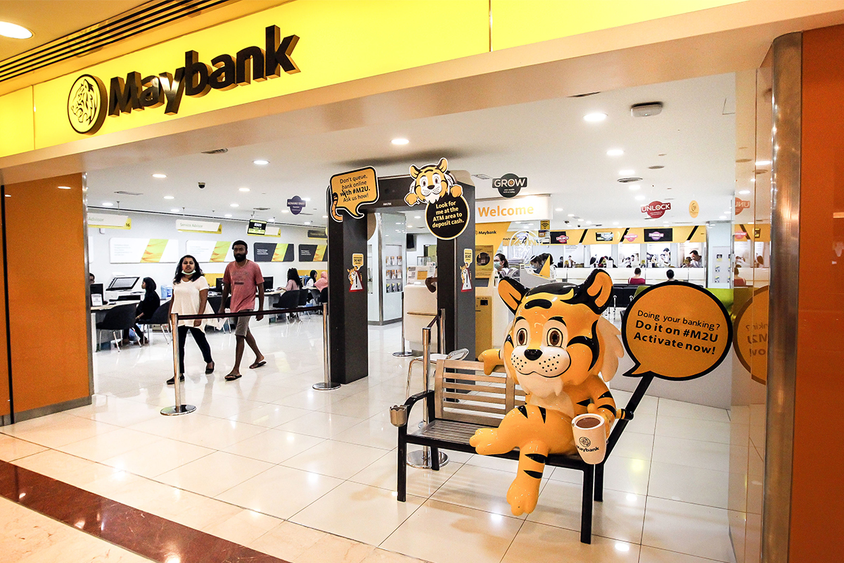 Maybank's web and app experiencing connection issue