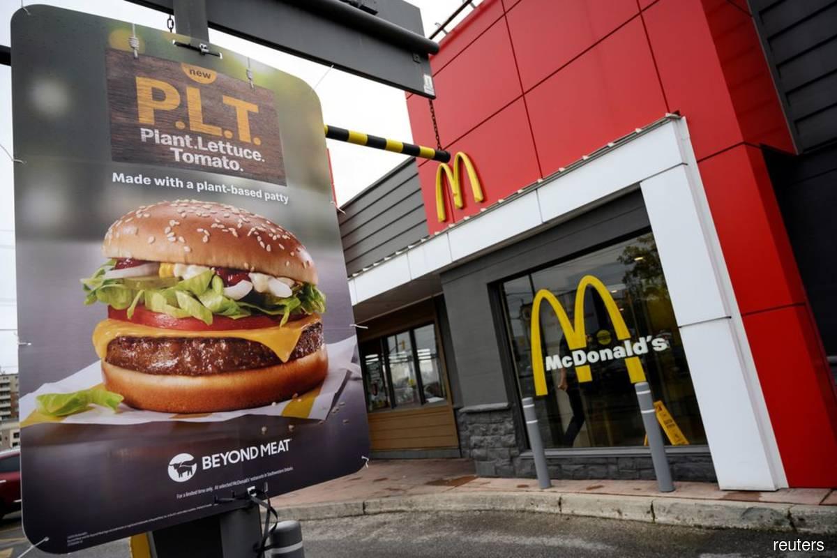McDonald's sales soar as consumers binge on chicken sandwiches