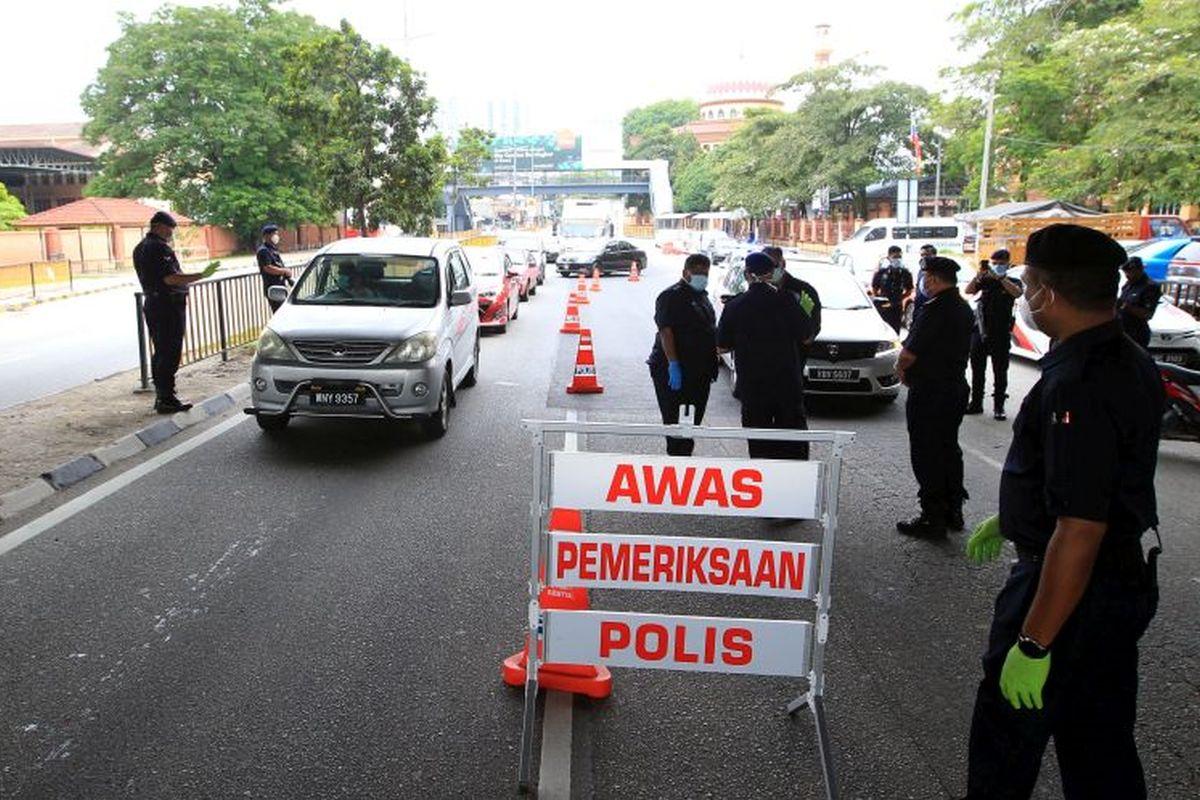 MCO: Police to mount 13 roadblocks in Kuala Lumpur, Putrajaya