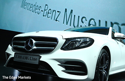 Mercedes-Benz Malaysia unveils new E-Class