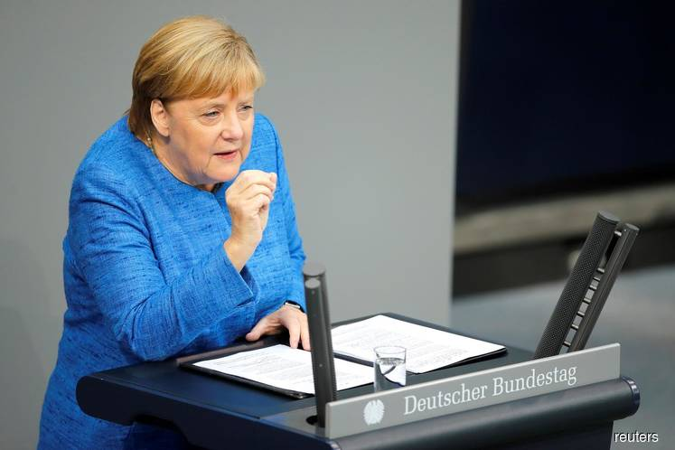 Merkel still sees every chance of orderly Brexit