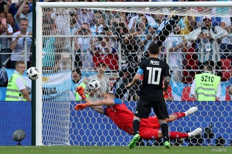 Messi's penalty miss not to blame for draw with Iceland: Maradona