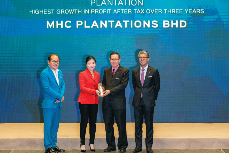 Highest growth in profit after tax over three years: PLANTATION: MHC Plantations - Expecting a boost from biogas plants