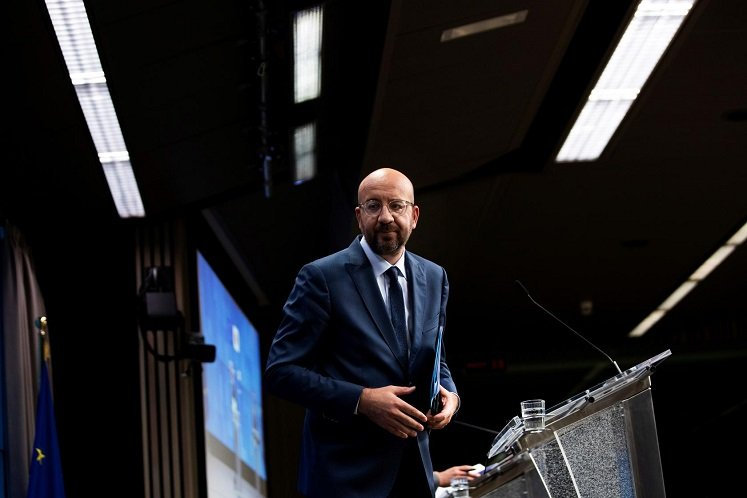 European Council President Charles Michel (Photo by Reuters)
