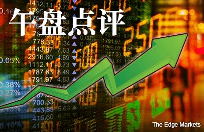 政府注资救市 马股走升1.9%