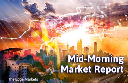 KLCI pares gains in line with nervy regional markets
