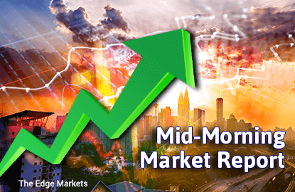 KLCI rises 0.33% as select blue chips lift