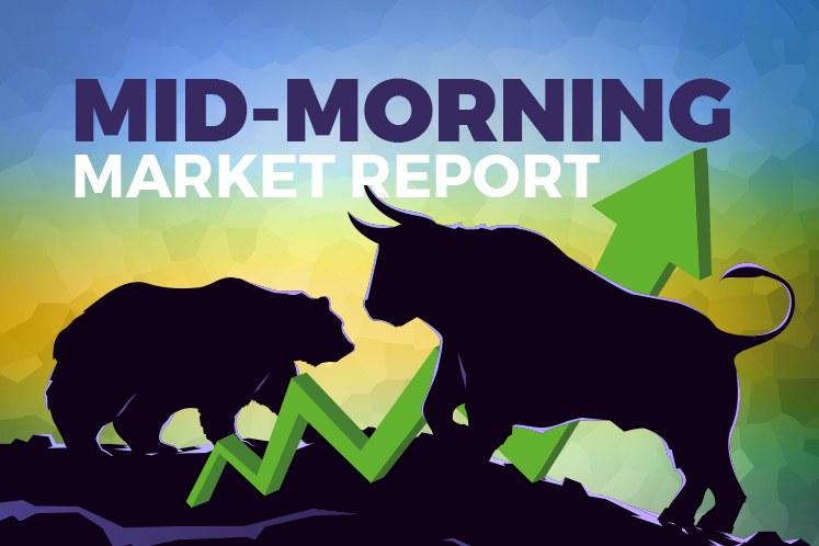 KLCI pares gains, stays on course to close day higher