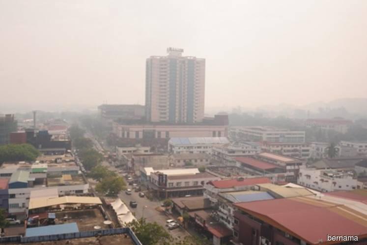 'Unhealthy' API reading in Miri city