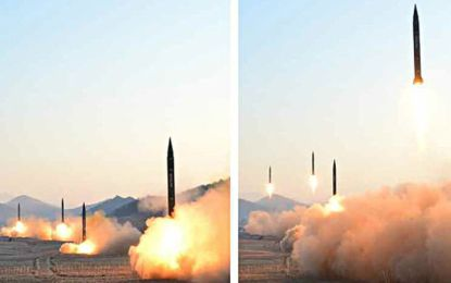 Even with THAAD defence, North Korea missile barrage poses threat to South
