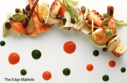 Dining: A modern Italian menu at LaBrezza, The St Regis Singapore