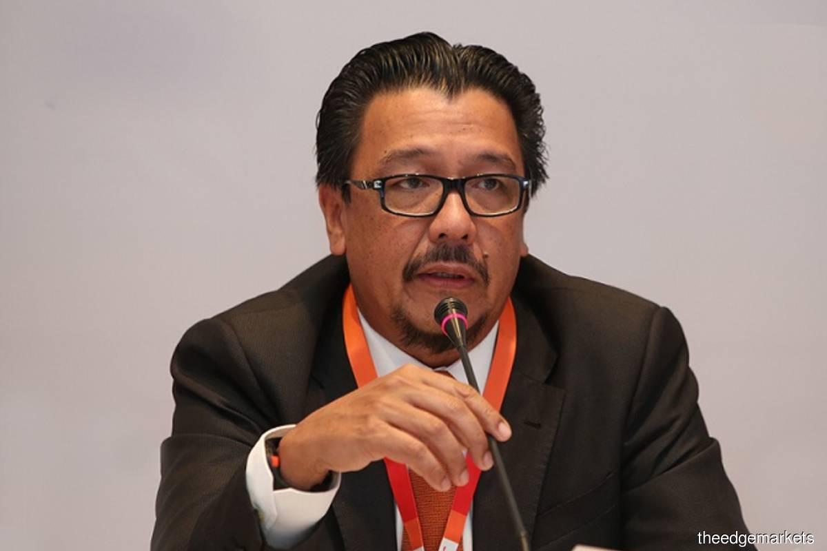Datuk Seri Mohammed Shazalli Ramly (The Edge filepix)