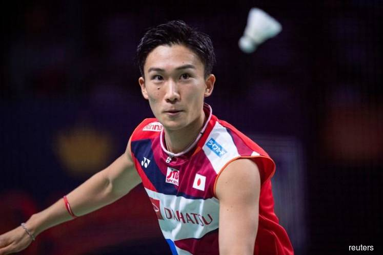 Badminton world No.1 Momota leaves Malaysia hospital, on way home