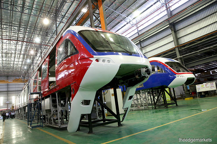 Scomi unit gets RM122m KL Monorail project