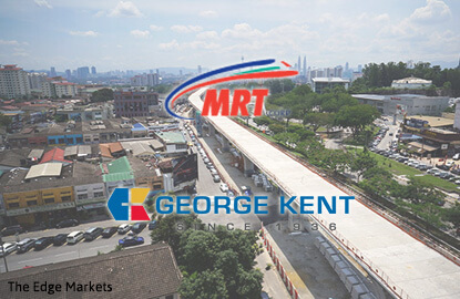MRT Corp awards RM1.01b trackworks package to CCCC-George Kent JV