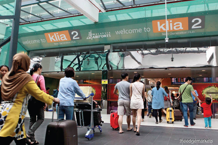 Malaysian airports' passenger traffic up 5.4% to 8.14 million in February
