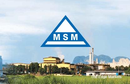 MSM次季净利微增至7913万