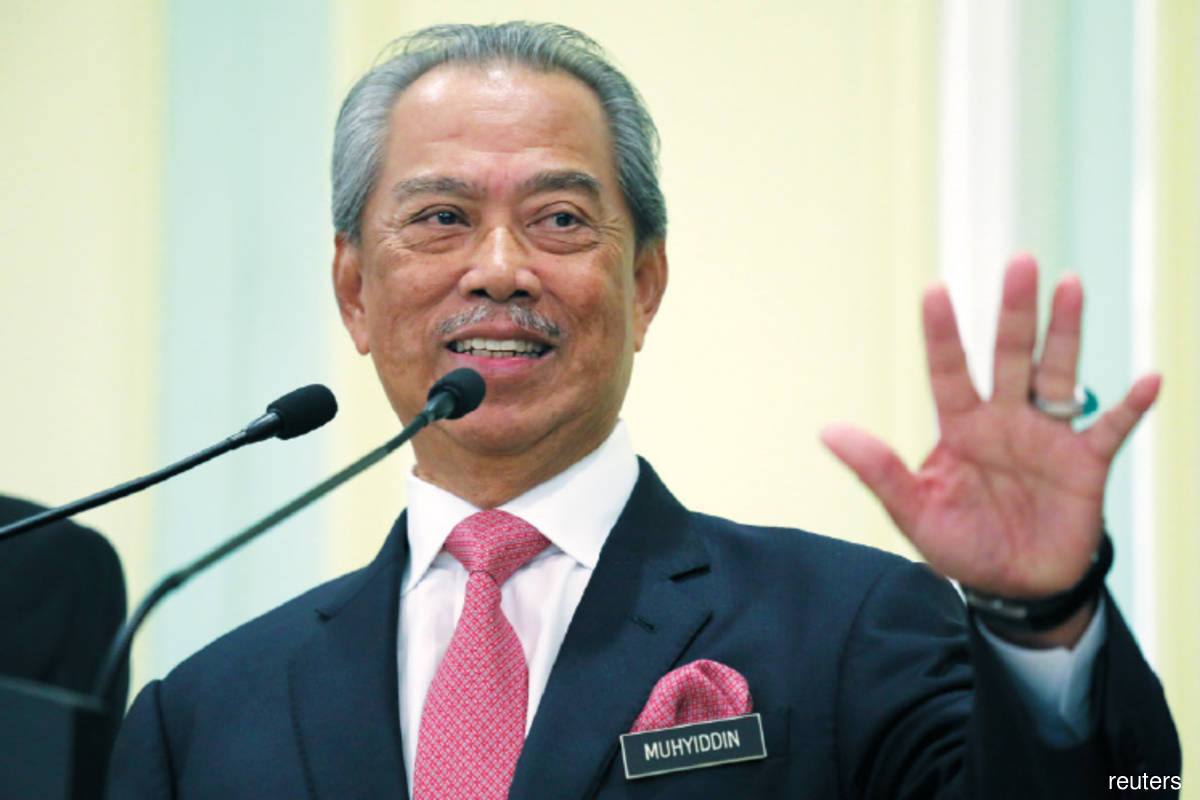 Muhyiddin expresses gratitude over safe arrival of Covid-19 vaccine