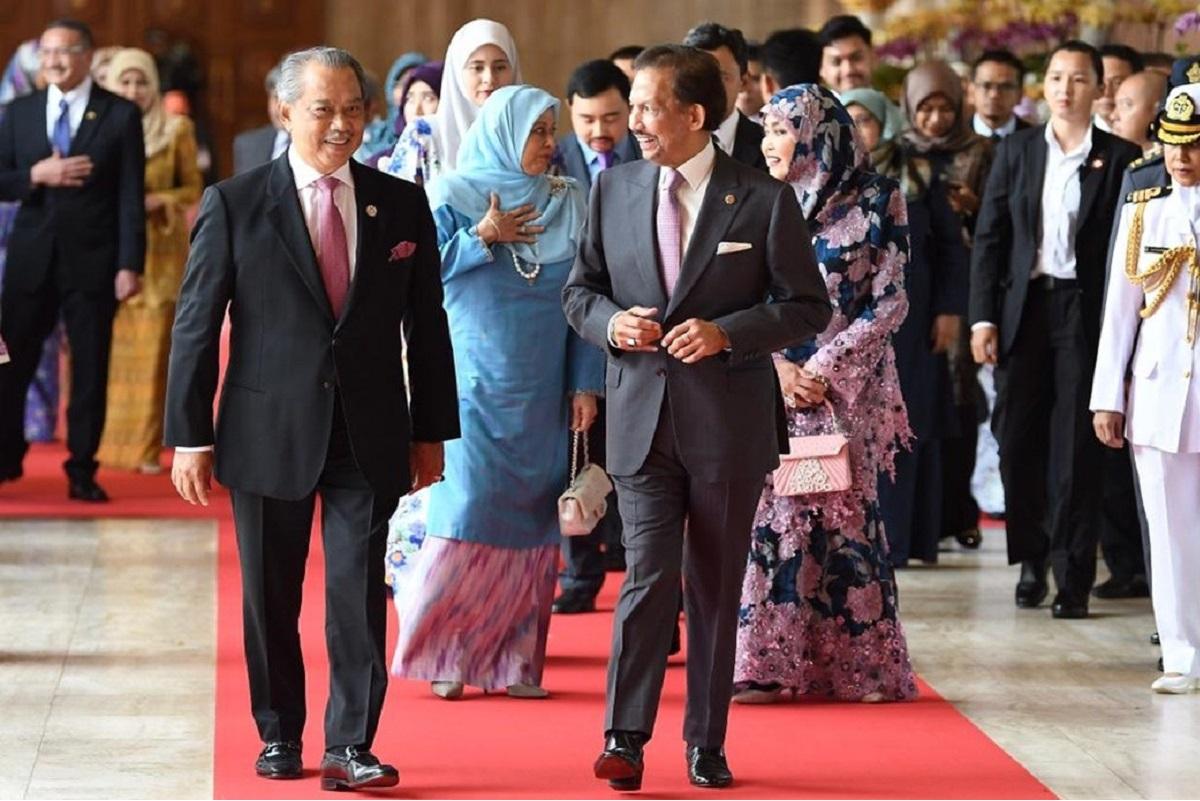 PM Muhyiddin meets Sultan of Brunei