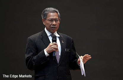 Mustapa: Drop in manufacturing numbers temporary, expected to recover