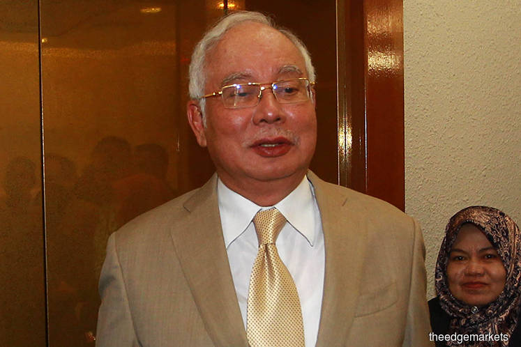 'Najib can't be charged for money laundering as it has not been proven'