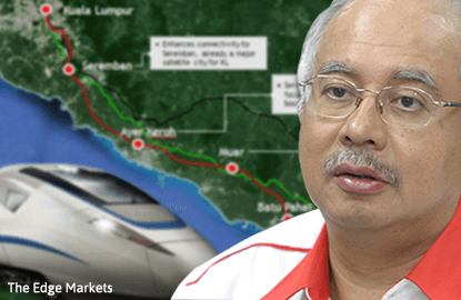 Najib: KL-Singapore High Speed Rail is Japan's top investment priority in Malaysia